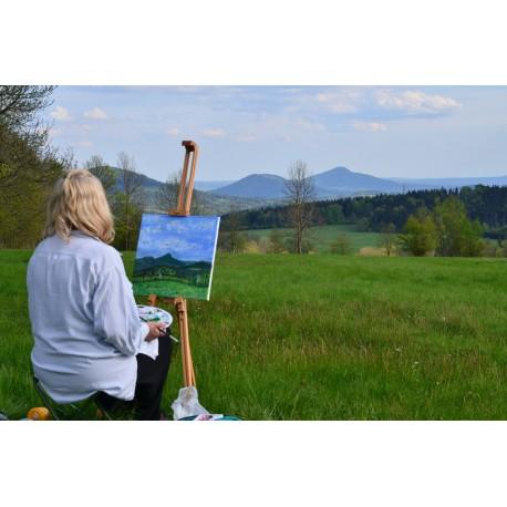 Malování v plenéru ( krajině)